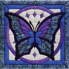 Quilt Magic 12-Inch by 12-Inch Butterfly Kit, 11.75.