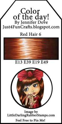 Color of the Day 214 Red Hair 6