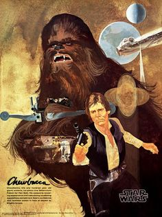 STAR WARS (1977) Coca Cola / Burger Chef (Burger King) Premium Posters Art by Del Nichols The tv commercial: https://www.youtube.com/watch?v=13oCCNMls9c https://www.pinterest.com/88partiesmore/movies-and-shows/