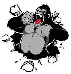 Goril Sembol Şeffaf Clan Simge - KoSembol.NET King Kong, Graffiti Drawing, Art Drawings, Free Vector Images, Vector Art, Vector Stock, Wie Zeichnet Man Graffiti, Image Tatoo, Flash Tattoo