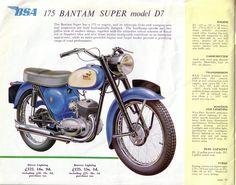 Red Devil Motors: BSA Motorcycles full range brochure 1960