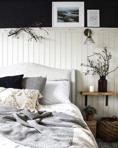 See Our Bedroom Renovation on Home Inteior Ideas 3409 White Bedroom Furniture, Gold Bedroom, Bedroom Sets, Modern Bedroom, Bedroom Wall, Master Bedroom, Bedroom Decor, Contemporary Bedroom, Bedroom Rustic