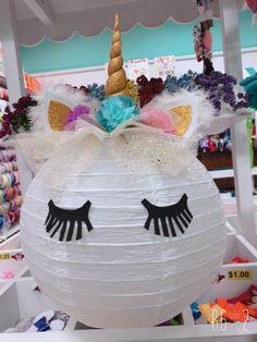 Lampara de unicornio