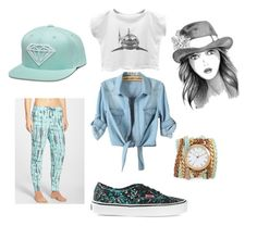"""""""danceee"""" by kellypbb ❤ liked on Polyvore featuring interior, interiors, interior design, home, home decor, interior decorating, P.J. Salvage, Vans and Sara Designs"""