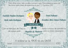 Convite de casamento  (Corel Draw)