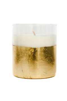 New USA collection from fair-trade girl-power company Raven + Lily-- gold-leaf candles, made by formerly homeless American women.