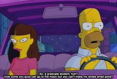 "the Simpsons--from ""Homer Badman"""