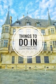 Enjoy The Adventure - Why You Should Visit Luxembourg Travel Guide, Museums, Shops, Castle. Backpacking Europe, Europe Travel Guide, Travel Guides, Travelling Europe, Traveling, Budget Travel, Places In Europe, Europe Destinations, Bucket List Europe