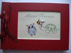 Fotoalbum - Meine Freunde von Gracielas  -  Fadengrafik  - Shop        auf DaWanda.com
