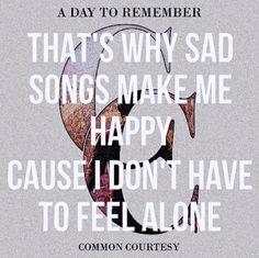 A Day To Remember Common Courtesy <3