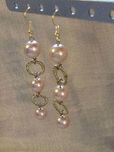 Roman Pearl Chandelier Earrings by ericaholton on Etsy, $8.00   On ...
