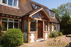 Read more about our oak framed porches in our free Oakmasters Brochure