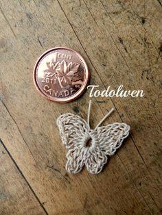 Todolwen: My Little 'Flutter~By' ~ A Sweet Crochet Tutorial