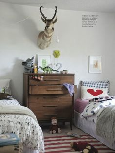 My kids shared bedroom in Issue 8 of Anthology