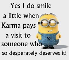 """~ST """"."""" """"A 'little' is an understatement!! I do a 'thank you Karma (God)- how you like it now MFs' dance!!""""LR"""