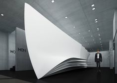 Neil Barrett Flagship Store - Zaha Hadid Architects