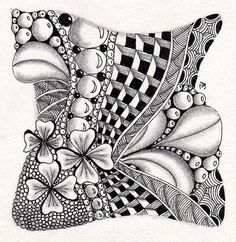 love this zentangle