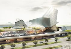 tom wiscombe awarded second prize for port of kinmen competition