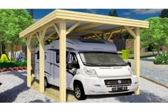 Carport EVASION1 camping car - 36.5m² couvert