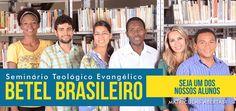 Faça parte do Betel Brasileiro! Confira nossa agenda de cursos http://www.seminariobetel.com.br/agenda.html