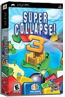Super Collapse 3 (PlayStation Portable) PSP NEW SEALED - plastic torn on back