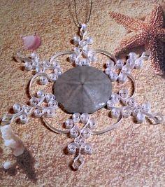 Sand Dollar Ornament: 'Popham' gift packaged by ForeverFiligree