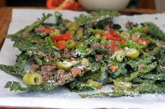 Kale Chip Nachos w/ 'No Dairy' Parmesan (Paleo/Primal/GAPS)   The Urban Poser