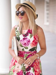 New post on faidingrainbow Edgy Look, Look Chic, Beautiful Summer Dresses, Floral Fashion, Girly Outfits, Feminine Style, Girly Girl, Dress Patterns, Spring Outfits
