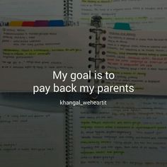 goals and study image