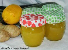 RECEPTY Z MOJEJ KUCHYNE A ZÁHRADY: Cuketový džem s citrónom a zázvorom