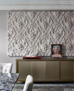Combine Rich Texture With Neutral Color - ELLEDecor.com