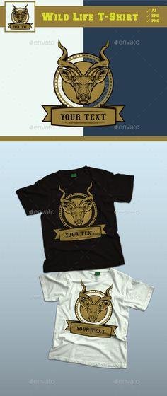 Wild Life Design Tshirt