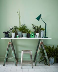 """'Neo mint' is going to be big news in according to forecasting company WGSN. Colour director Jane Monnington Boddy states """"Neo mint is a… Green Velvet Sofa, Green Sofa, Green Ottoman, Mint Decor, House Worth, Living Etc, Color Tile, Colour, Interiors Magazine"""