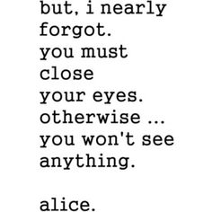 Alice in Wonderland, Svankmajer Alice, Movie Quote, Lewis Carroll Art Print