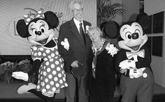 The voice actors of Mickey Mouse and Minnie Mouse from the 1930s got married in real life
