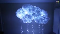 Cool DIY cloud light by the you-tuber and artist: TiffyQuake  http://youtu.be/nOQkqUFpn3M