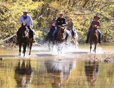 Brushy Creek Lodge & Resort - Black, Missouri - fun trails!!