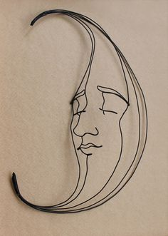Gavin Worth -- Wire Sculpture  #art #sculpture pls visit us  www.facebook.com/skalapeter7 ♡