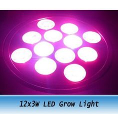 72.00$  Watch now - http://ali6ov.worldwells.pw/go.php?t=654391270 - High Power LED Grow Lamp 12x3W led plant grow lights 440nm-BLUE 660nm-RED