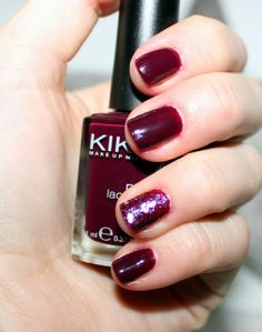 Kiko - 243 and P2 - Go Crazy #nails #nailart #manicure