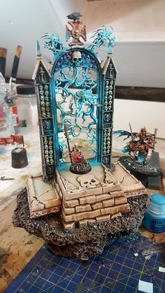 Portal to hell miniature