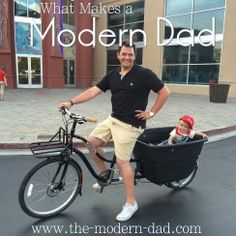What Makes a Modern Dad? Read all about it here. #TheModernDad #daddyblogger #utah #SLC #MadsenCycles