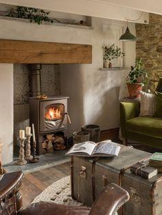 Decor rustic cu accente vintage într-o casă de vacanță din Cornwall, UK | Jurnal de Design Interior