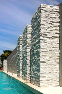 Quartzite Stone Pool Feature