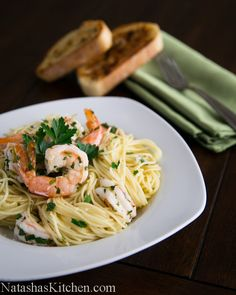 Pasta with Lemon Scampi-2