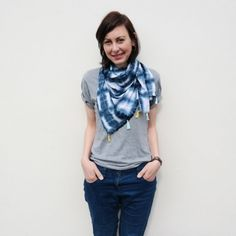 A perfect summertime project that will update your wardrobe and get you hooked on a new crafty technique that's sure to impress your friends