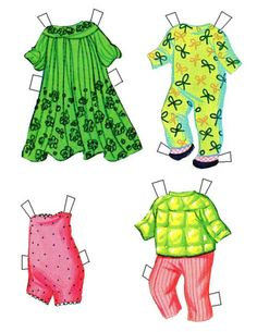 Skediddle Kiddles 3 Magic Dolls* 1500 free paper dolls at Arielle Gabriels The International Paper Doll Society also at The China Adventures of Arielle Gabriel free China paper dolls *