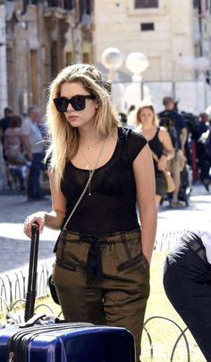 Ashley Benson spotted out in Rome, Italy (September 6th, 2016)
