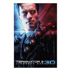 Terminator 2 3D One Sheet Poster | iPosters
