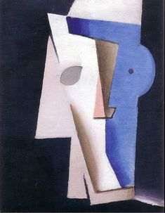 Josef Čapek, Hlava, 1914-15 Prague, Sculpture Art, Sculptures, Surrealism Painting, Surreal Art, Modern Art, Picasso, Abstract Art, Symbols